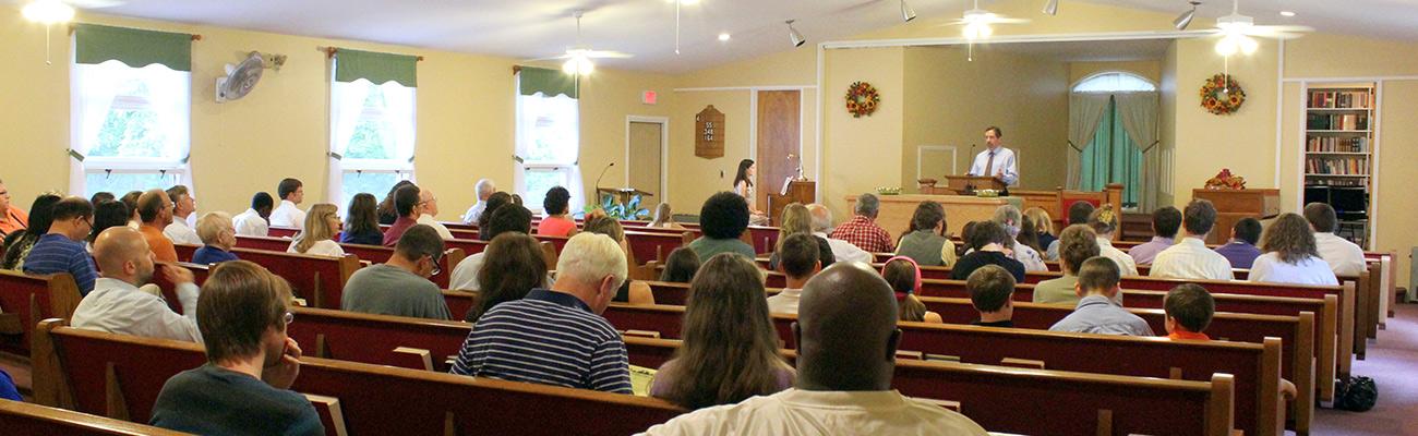 Grace Reformed Baptist Church, East Haven, CT sanctuary